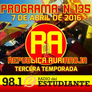 RA. Programa N°135 07-04-2016