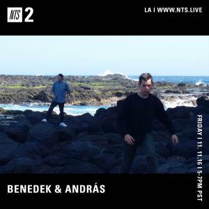 Cafe Bené w/ Benedek & Andras - 11th November 2016