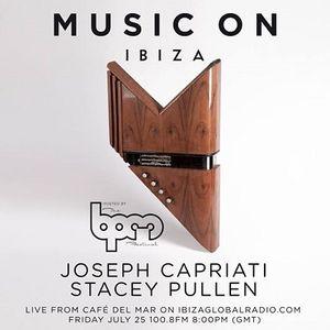 Joseph Capriati & Stacey Pullen - Live At Cafe Del Mar, Music ON PreParty (Ibiza) - 25-Jul-2014