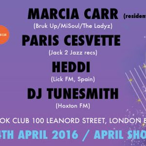 Girlz B Like - April Showers: Paris Cesvette | Heddi Greenwood | Marcia Carr Pt. 2 at The Book Club