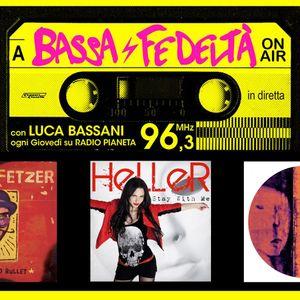 14/5/2015 - Bassa Fedeltà On Air con interviste a Veeblefetzer, Heller, Discoforticut