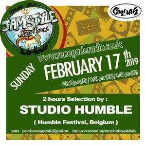 Jamstyle On Renegade Radio (february 2019) |  Studio Humble |