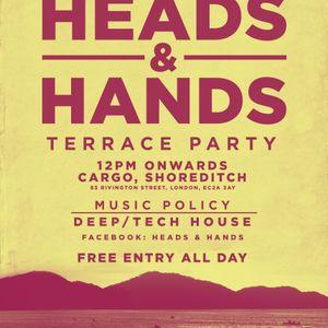 Heads & Hands Mix 003 - June