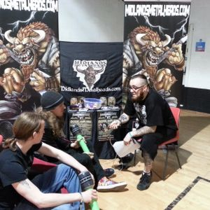 Primitai interview with Midlands Metalheads at Hammerfest 2014
