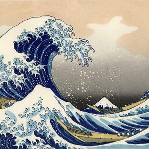 Dannydraait 北斎の大きな波 [Hokusai's 'the great wave']