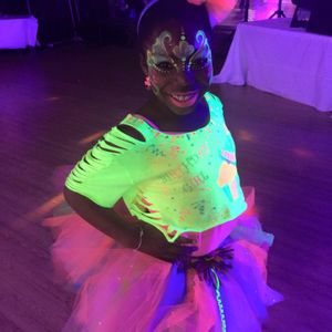 Milan's 8th Glow in the Dark Dance Birthday Party - DJ Seko Varner live