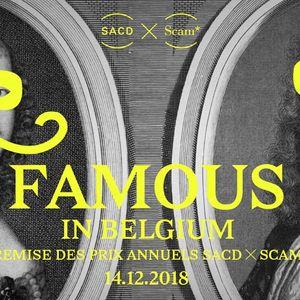 Du futur faisons table rase FAMOUS IN BELGIUM 2018 par Votre Chazam