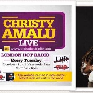 Christy Amalu on London Hott Radio 270617
