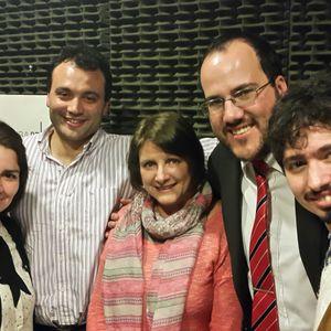 Dres. Ignacio Urriza, Leandro Vukicevic y Cristian Defazio
