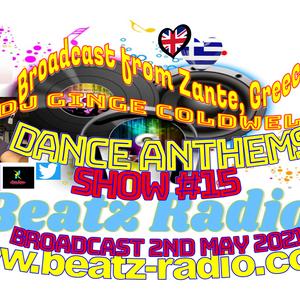 DJ Ginge Coldwell - Dance Anthems 15-30th April 2021