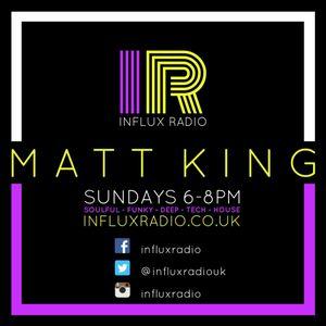 DJ Matt King Live On Influx Radio Sunday 18th December 2016