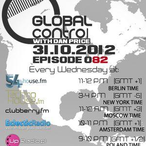 Dan Price - Global Control Episode 082 (31.10.12)