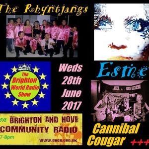 The Brighton World Radio Show with Donald Shier - 28 June 2017
