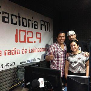 27-09-2013 - Entrevista a Nacidos de la Tierra en La Descarga Musical - Factoría FM (Valencia - Esp)