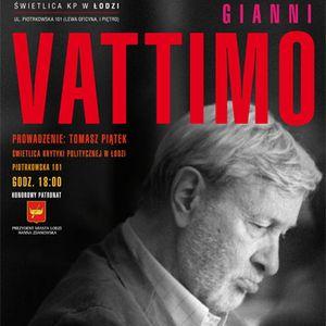 Łódź: Gianni Vattimo (2011-11-24)