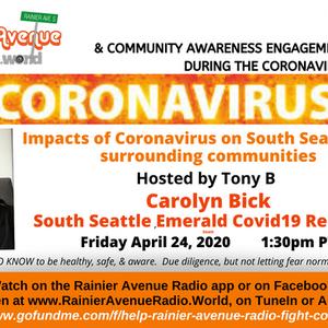 Coronavirus Special 21 - Carolyn Bick