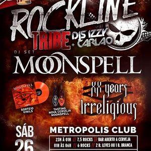 Rockline Tribe EP9 - Especial Moonspell