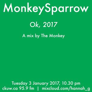 OK, 2017- a mix by the monkey 3-1-17