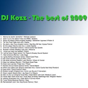 DJ Kozz - The best of 2009