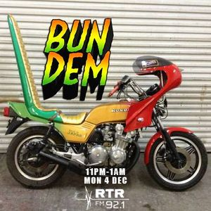 Bun Dem - Cloudwaves on RTR.FM - 4th December 2017