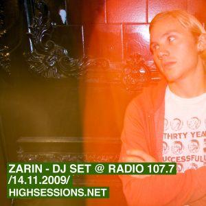 dj set @ radio 107.7 (14.11.2009)