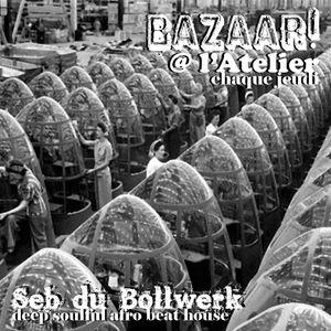 Bazaar! live @ l'Atelier, March 29th 2012, part 3.