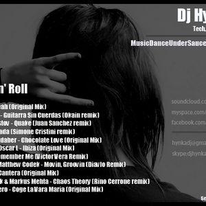 Dj Hynka - Rock 'n' Roll  (tech,techhouse - djset) September 2012