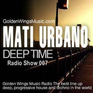 MatiUrbano - DeepTime 007@GWM Radio