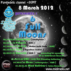 Romeroz Live @ 6 Moons Special Midiradio show
