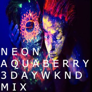 Neon Aquaberry 3day Weekend Mix