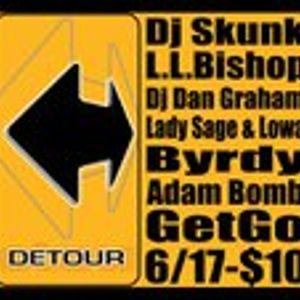 DJ Skunk (Denver, Colorado USA): Live at the Primerdome in Denver, 'Detour' party, June 17 2011