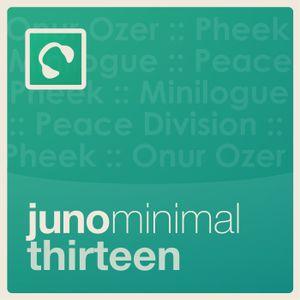 Juno Minimal Podcast 13