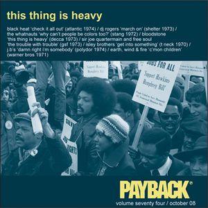 PAYBACK Vol 74 October 2008