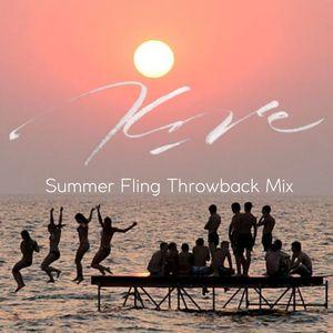 Kore Entertainment (DJ Amara) - Summer Fling Throwback Mix v1