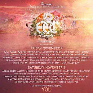 Arty  -  Live At Electric Daisy Carnival (EDC Orlando)  - 07-Nov-2014