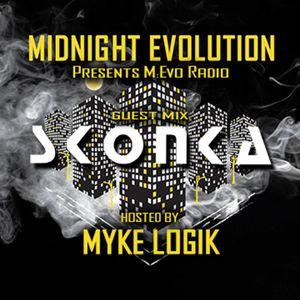 M:Evo Radio Episode 001: Featuring Skonka - Hosted by Myke Logik