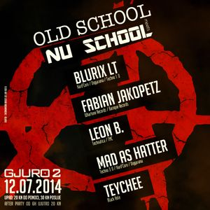 Mad As Hatter - Live @ Old School meets NU School (club Gjuro 2, Zagreb, 12-07-2014)