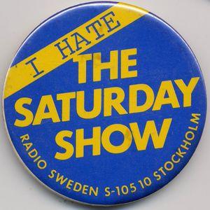 """Radio Sweden, Stockholm, Sweden - """"The Saturday Show"""" - 6 September 1975"""