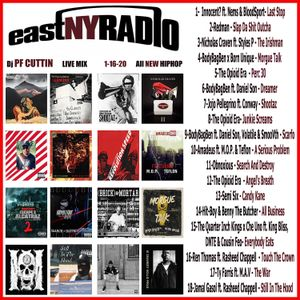 EastNYRadio 1 - 16 - 20 All New HipHop Mix