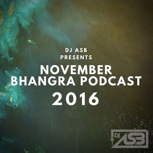 Most Valuable DJs - November Bhangra Podcast 2016