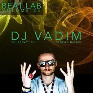 DJ Vadim  - Beat Lab Radio Vol 24 - Exclusive Mix part 1