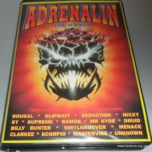 DJ Sy - Adrenalin, Bath Pavillion & Blandford 1996.