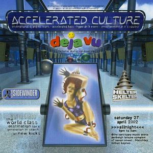 Bryan G with Juiceman & IC3 at Accelerated Culture 7 (April 2002)