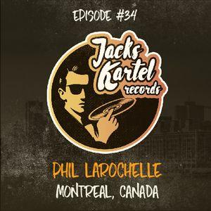 JKR034 Podkast with / Phil Larochelle /