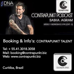 SASHA AGRAM Contrapunkt Podcast May 20 2015 @ DNA RADIO FM Buenos Aires