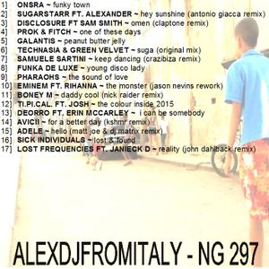 ALEXDJFROMITALY - NG297 house & dance 2015