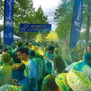 12h de l'étudiant : les foulées colorées commentées en live