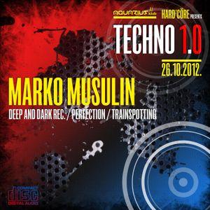 MARKO MUSULIN - Live @ Hard²Core presents TECHNO 1.0 (Aquarius A1, Zagreb - 26.10.2012) - part 2