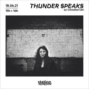 Thunder Speaks #11 - Capsule Sensible w/ Christine Ott