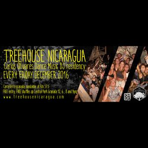 Carlos Olivares Techno Dj set, week 3 Tree House Residency